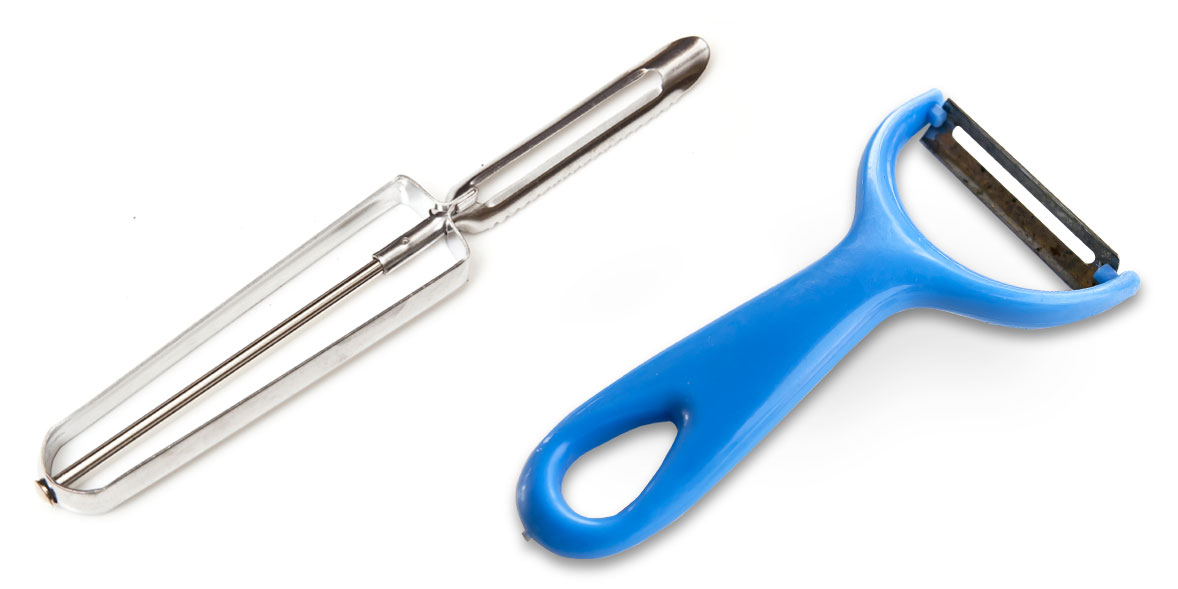 Y-shape vs swivel peelers