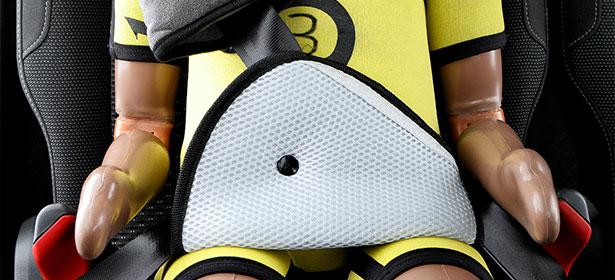 car seat seat belt triangle pad