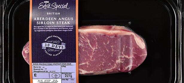 Asda Extra Special Aberdeen Angus Sirloin Steak 30 Day Matured