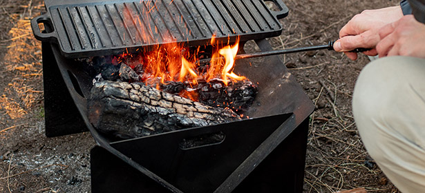 Portable or camping fire pit
