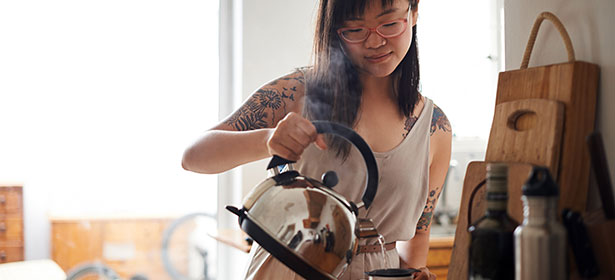 Making-tea