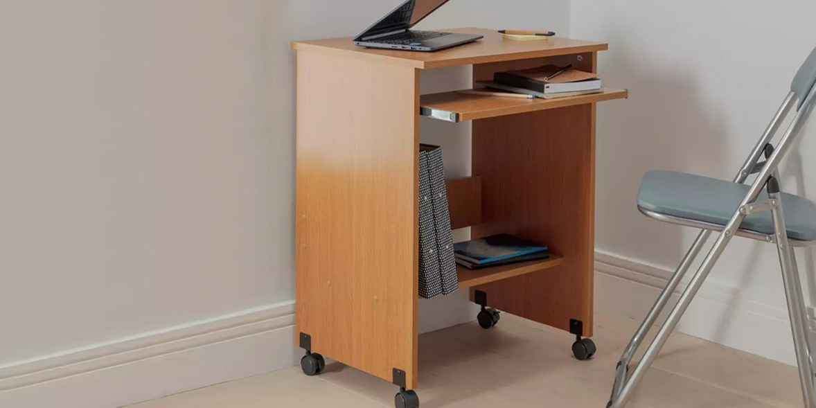 Above: Functional PC Office Trolley, Argos, £30