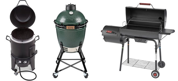 Types of barbecues