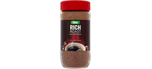 Asda Rich Roast instant coffee