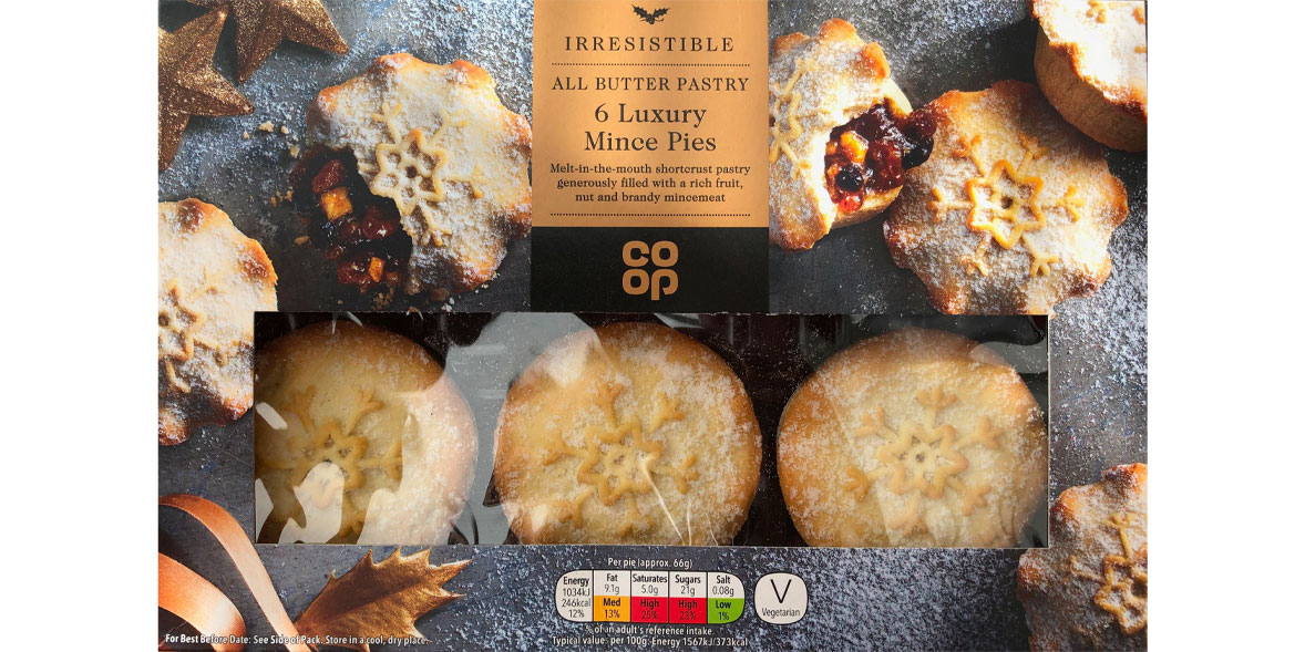 Co-op Irresistible Mince Pies