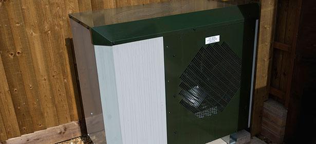 Black ground source heat pump 457522