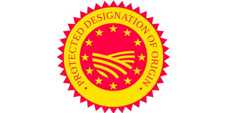 Protected Designation of Origin wine label