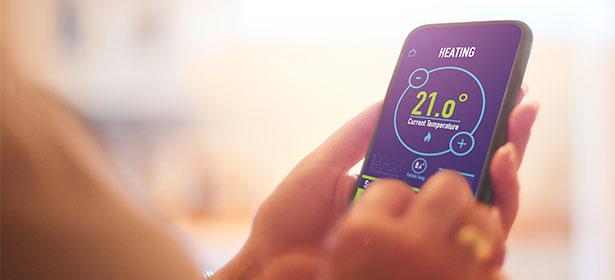 Using an energy app