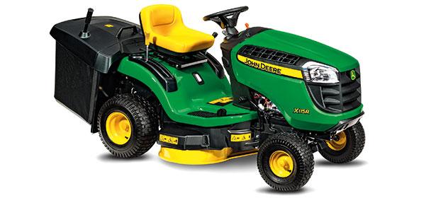 John Deere ride-on lawn mowers