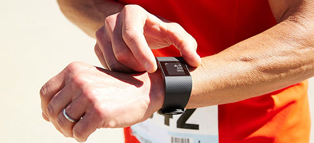 Fitbit surge tracking run 423587