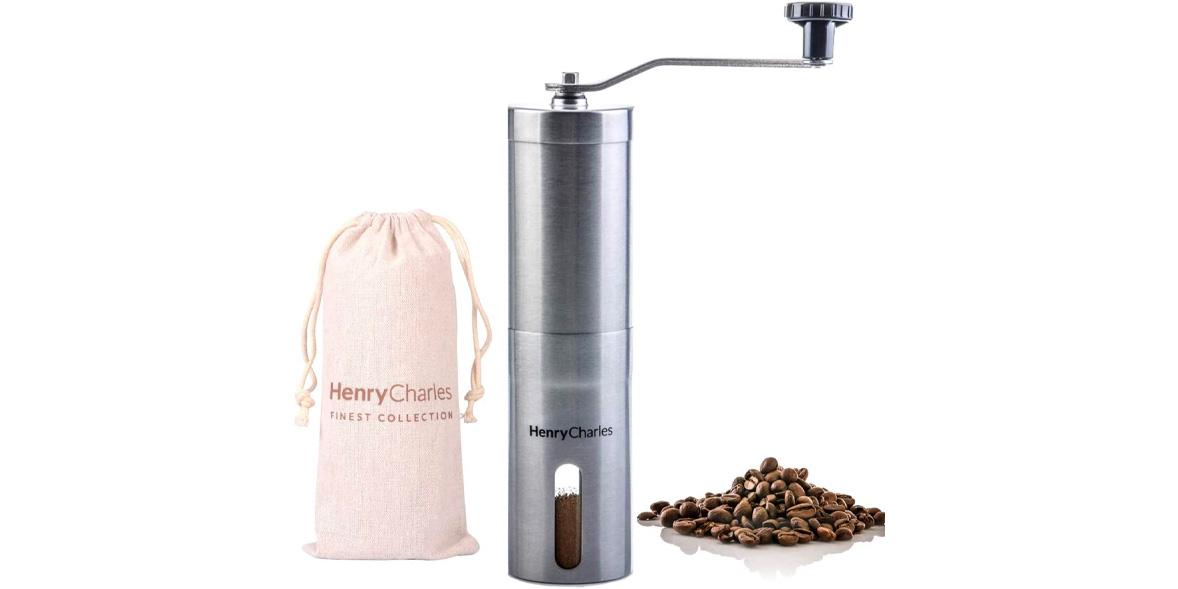 Henry Charles Manual Coffee Grinder by Oliver James