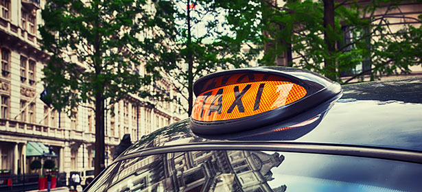 London black cab taxi