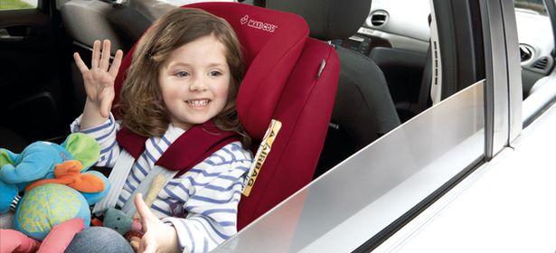 Maxi Cosi brand rear facing car seat