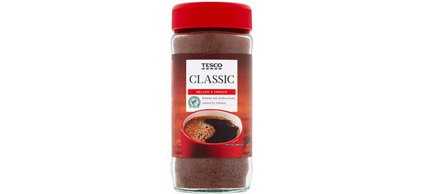 Tesco Classic instant coffee