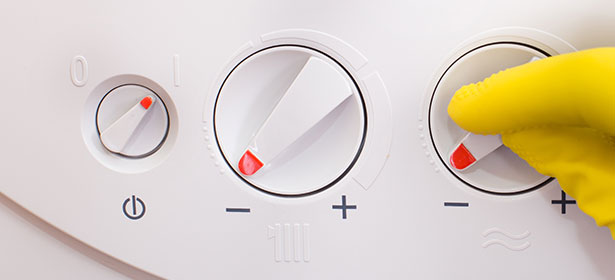 Lowering heating temperature