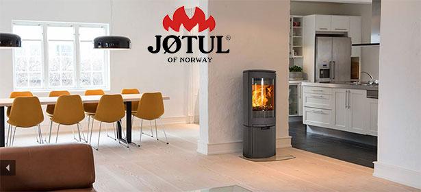 Modern jotul wood burning stove 480842
