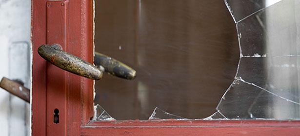 16.smashed-door-window
