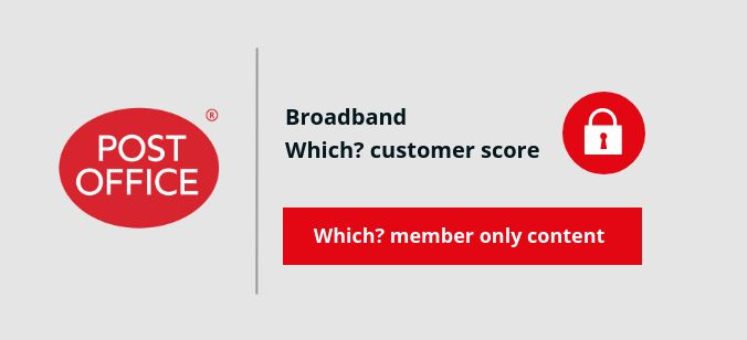 Post Office Broadband score
