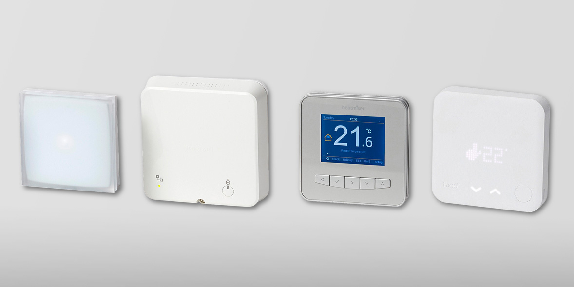 four different boiler controls