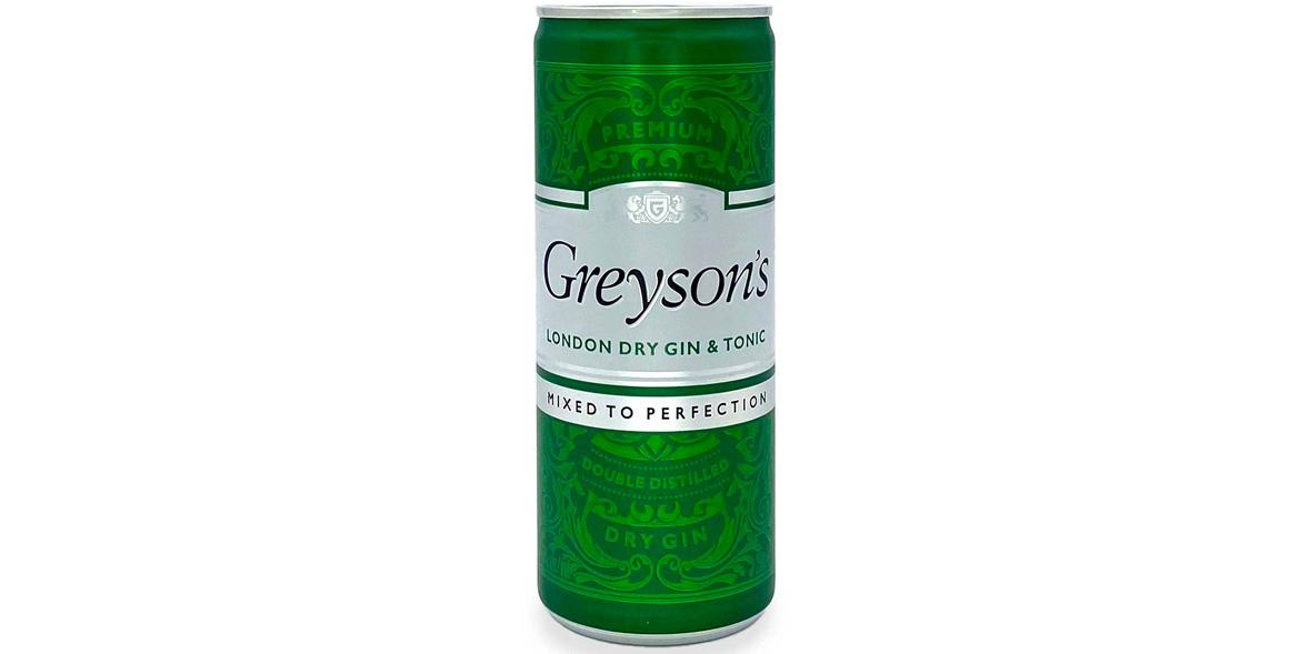 Greyson's London Dry Gin & Tonic