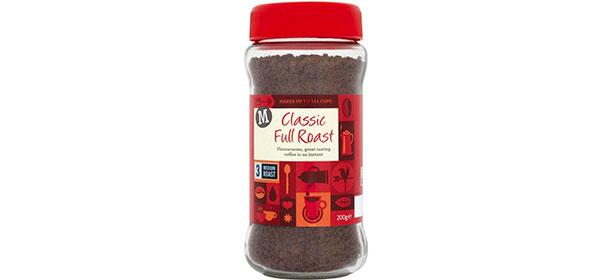 Morrisons Classic Full Roast instant coffee