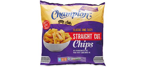 Aldi Champion Straight Cut Frozen Oven Chips