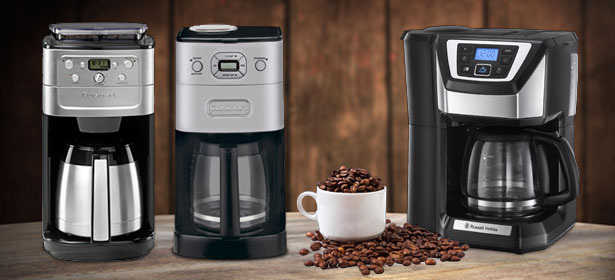 Grind and brew filter coffee machines
