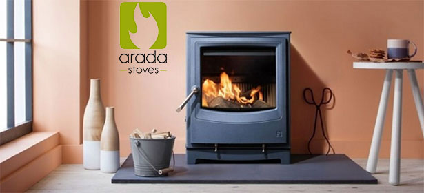 Aarrow stove in modern living room 480830