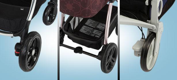 Pushchair wheels