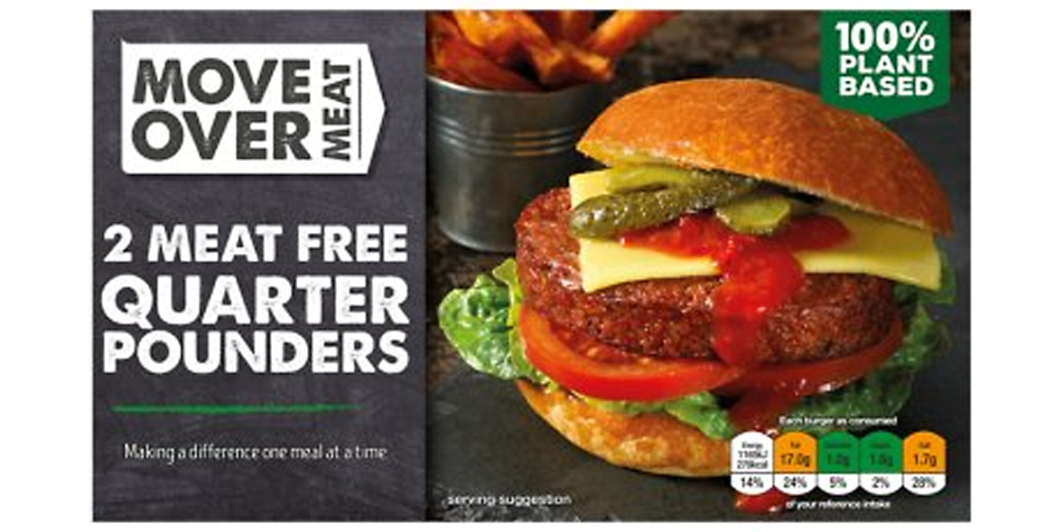 Move Over Meat Meat Free Quarter Pounders
