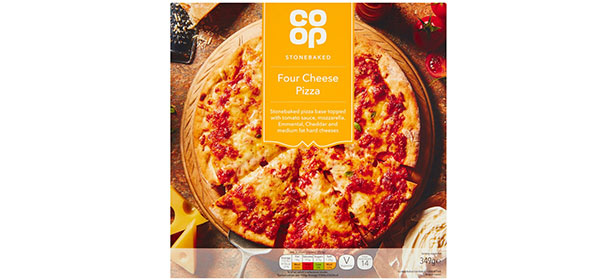 Co-op Four Cheese Stonebaked