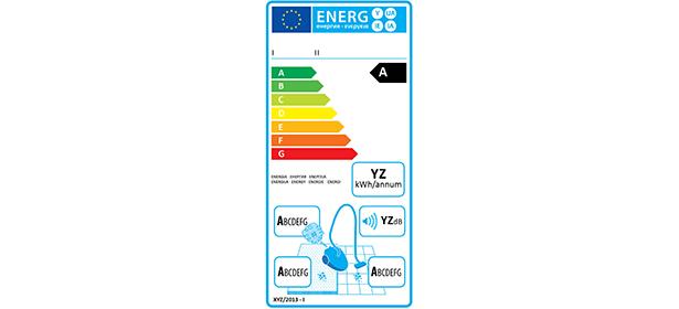 Vacuum cleaners energy label2