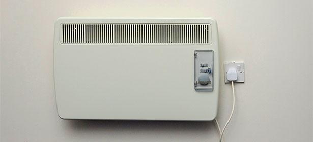 Storage heater on wall 451084