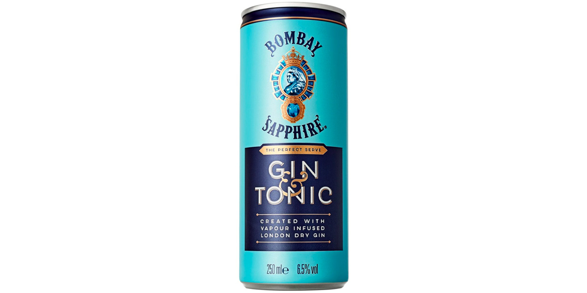 Bombay Sapphire Gin & Tonic (London Dry)
