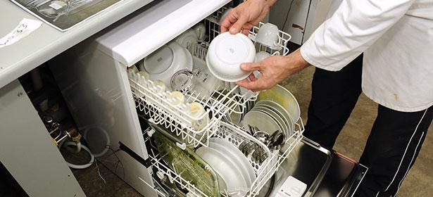 How we test dishwasher 2