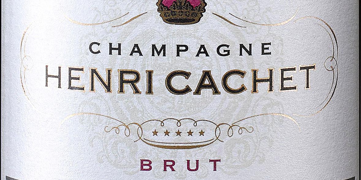 Henri Cachet champagne