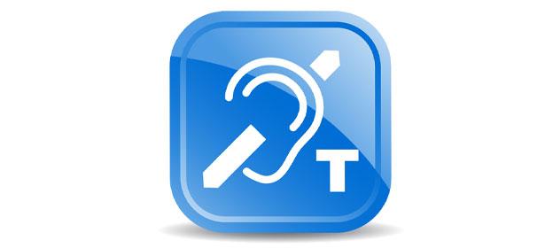 Hearing aid loop sign 434581