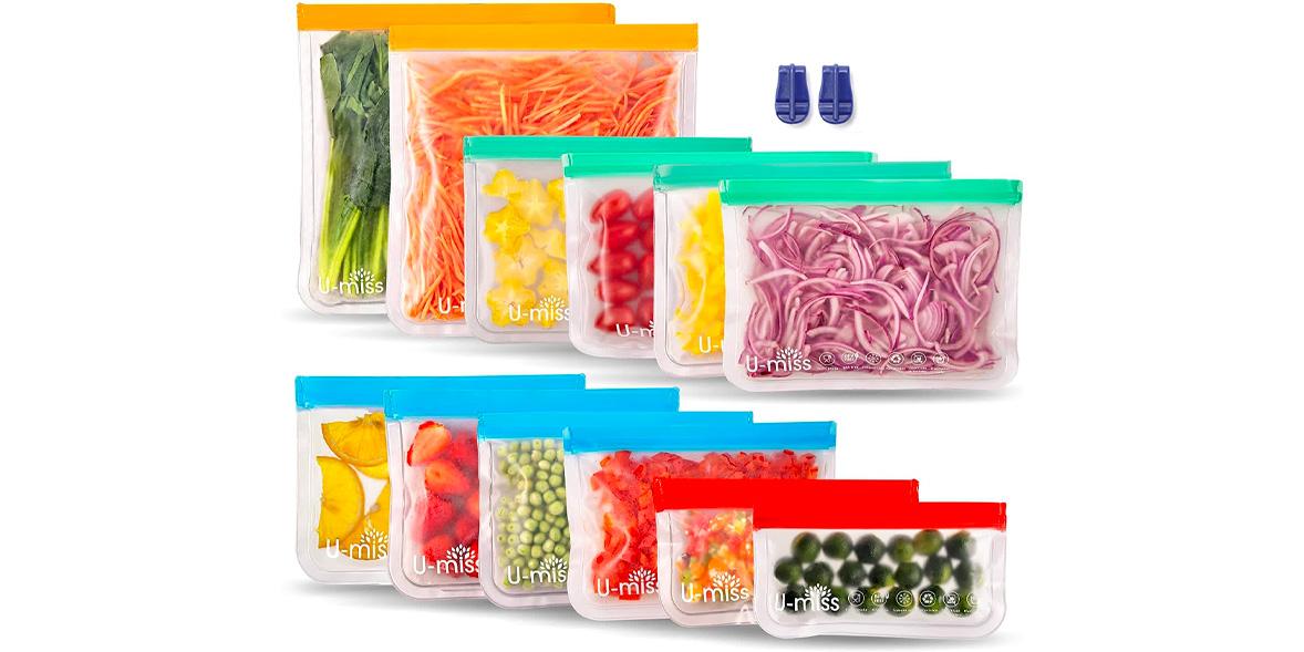 U-MISS reusable freezer bag
