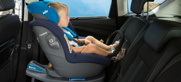 Extended rear facing child car seat