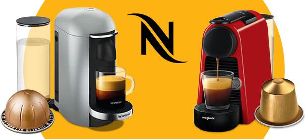 Nespresso pod coffee machines