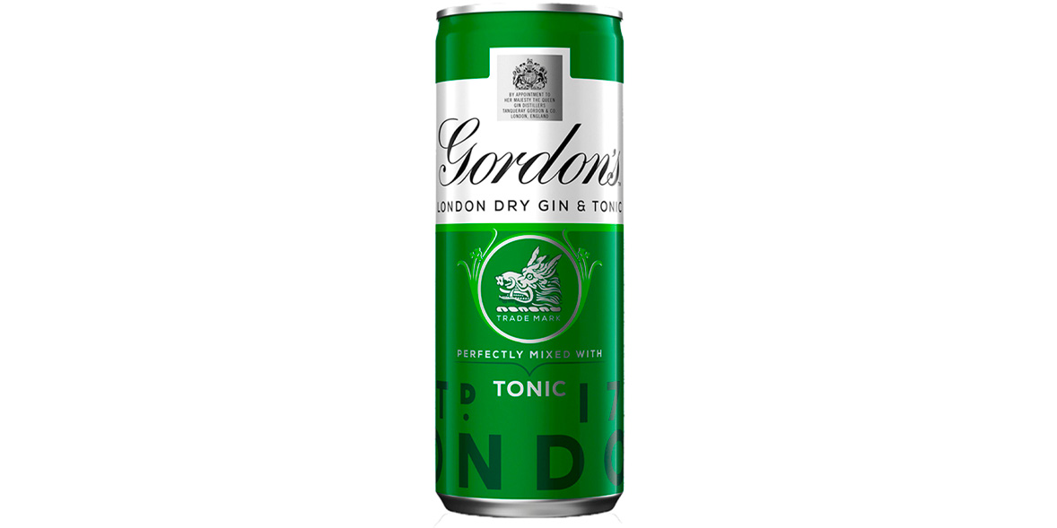 Gordon's London Dry Gin & Tonic