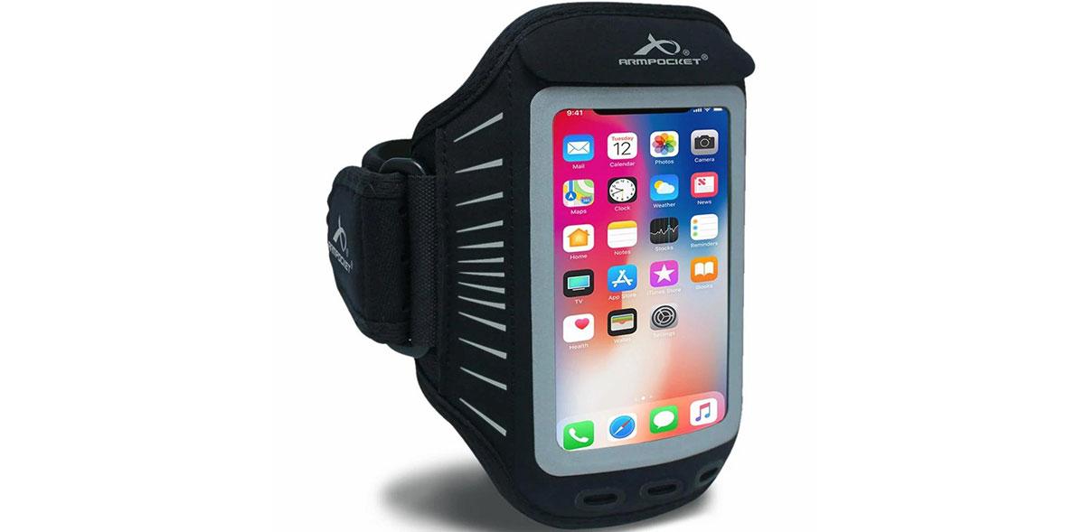 Armpocket Racer running armband for phone
