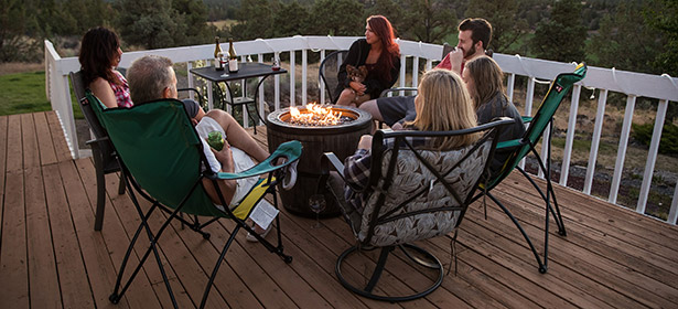 Family-fire-pit