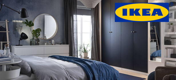 Ikea fitted bedroom furniture with logo 479349