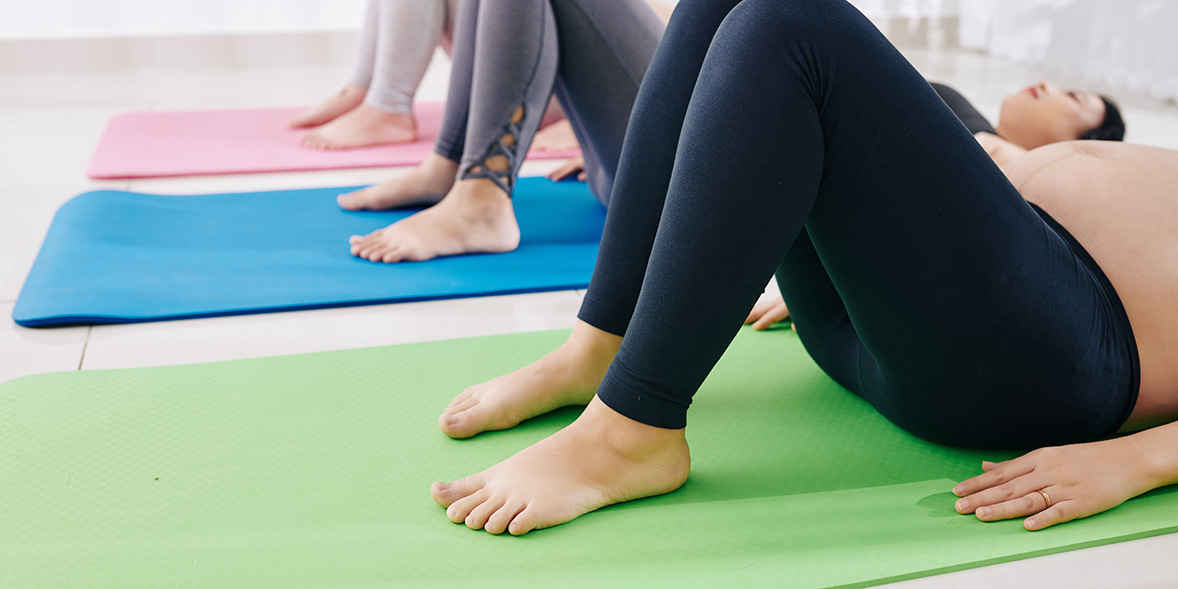 It's never too early to start doing pelvic floor exercises when you're pregnant.