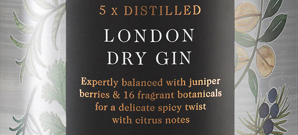 Co-op Irresistible London Dry Gin
