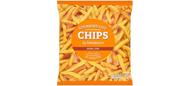 Sainsbury's Straight Cut Frozen Oven Chips