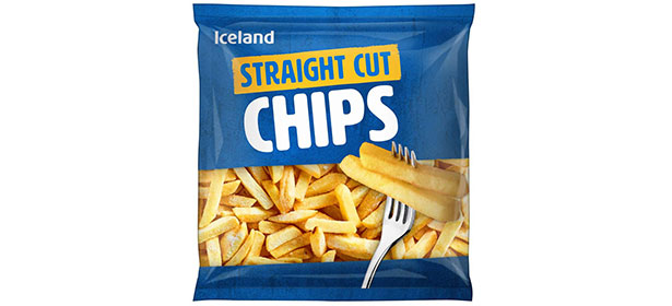Iceland Straight Cut Frozen Oven Chips