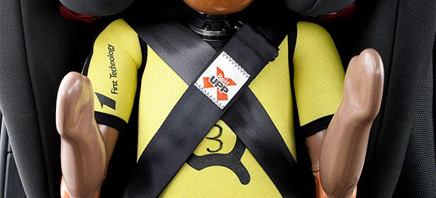 BeltUpp safety belt for child car seat