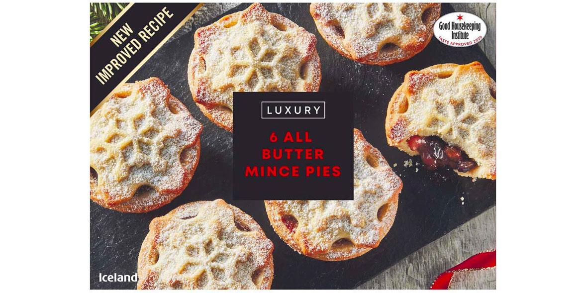 Iceland Luxury Mince Pies